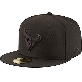 Nueva era 59Fifty Cap-NFL BLACK Houston Texans