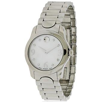 Movado Moda Stainless Steel Ladies Watch 0606696