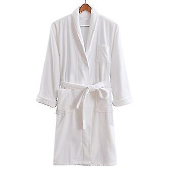 Beckasin badjas Morning Coat SPA-model van luxe katoenen badstof