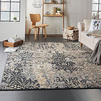 Majestic Nourison MST01 Black  Rectangle Rugs Traditional Rugs