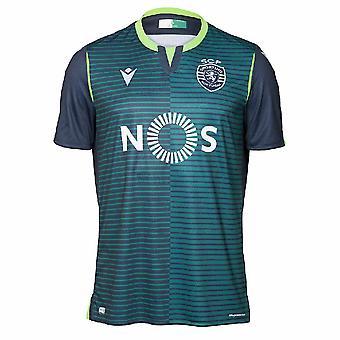 2019-2020 Sporting Lisbon Authentic Away Match Shirt