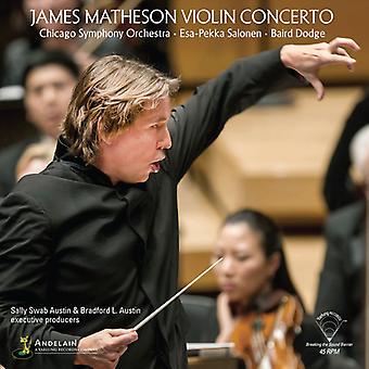 Matheson / Chicago Symphony / Salonen - Violin Concerto [Vinyl] USA import