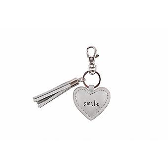 Sent And Meant Smile Heart Keyring