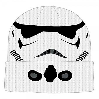 Beanie Cap - Star Wars - Storm Trooper Cuff  New Toys kc2sehstw
