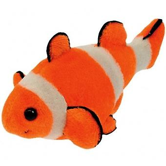 Finger Puppet - Clown Fish New Soft Doll Plush PC002199