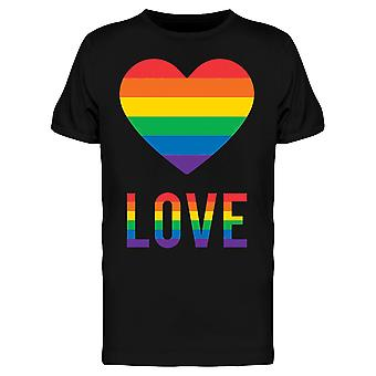 Homosexual Love Heart Tee Men's -Image by Shutterstock