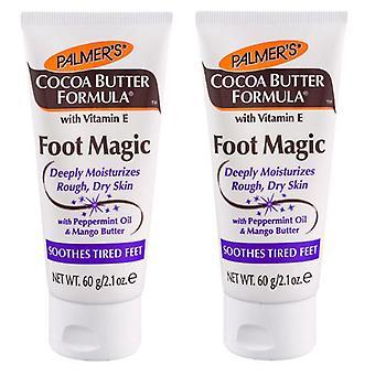 Palmer beurre de cacao pied formule Magic 60g (2-Pack)