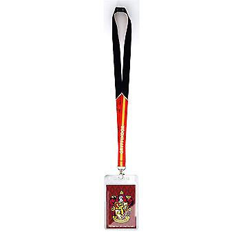 Lanyard - Harry Potter - Gryffindor Crest w / Card Holder New 48471