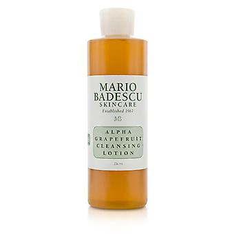 Mario Badescu Alpha Grapefruit Cleansing Lotion - For Combination/ Dry/ Sensitive Skin Types - 236ml/8oz