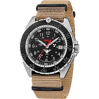 KHS - ساعة اليد - الرجال - المنفذ الصلب CR مع ناتوباند بيج- KHS. ENFSCR. Nt