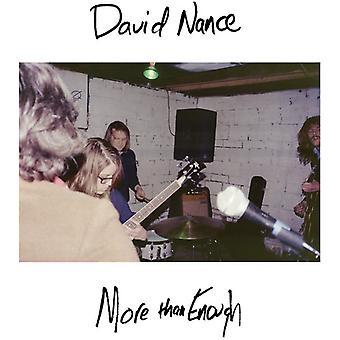 David Nance - More Than Enough [Vinyl] USA import