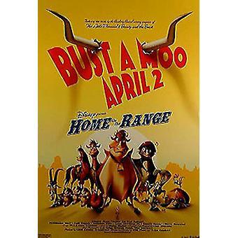 Poster di home on The Range (doppio lato regolare) Originale Cinema