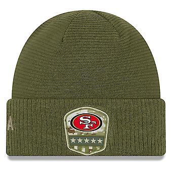 Uuden aika kauden Salute palvelu Winter Hat-San Francisco 49ers