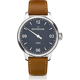 MeisterSinger Men's Watch Shape and Style Urban One-Hand Watch Automatic UR908_SKK03