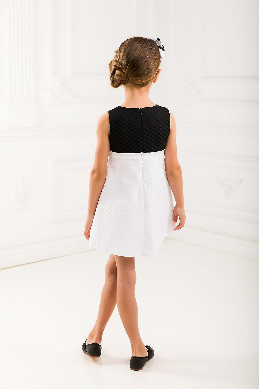 Black and white matching dress set