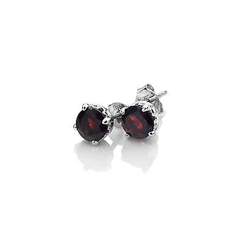 Anais Hot Diamonds Anais January Garnet Earrings AE001