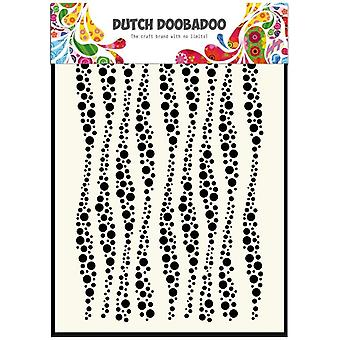 Dutch Doobadoo Wavy Stripes A5 Stencil Mask 470.715.037