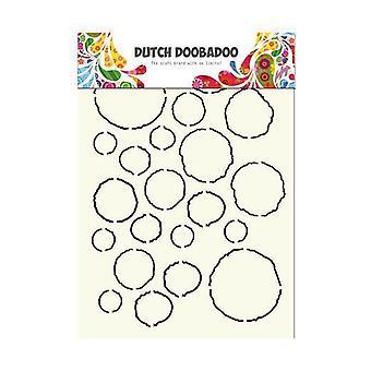 Dutch Doobadoo Stencil - A4 Grunge #715806