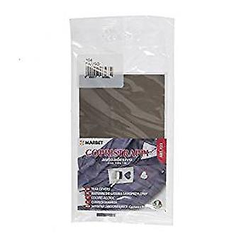 Marbet MB123.104 | Repair Fabric | Iron-On | 16 x 10cm | Mud