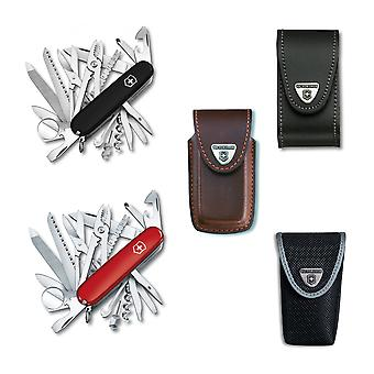 Victorinox SWISS CHAMP Swiss army knife bundle pack - with free Victorinox pouch