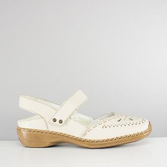 Rieker 41391-60 Ladies Sling tilbake skokrem