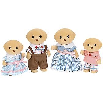 Sylvanian Families-gele Labrador familie speelgoed