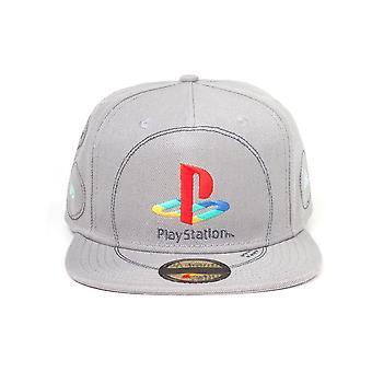 Sony PlayStation broderet logo SnapBack baseball cap unisex grå SB874743SNY