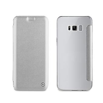 Case For Samsung Galaxy S8 Portefolio Fine And Stylish Silver