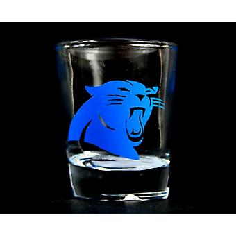 Carolina Panthers NFL Round Shot Glass
