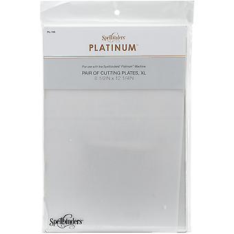 Spellbinders Platinum Cutting Plates XL