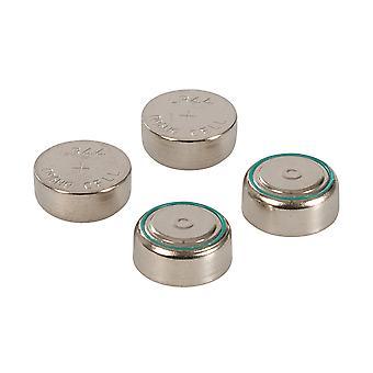 Alkaline Button Cell Battery LR44 4pk