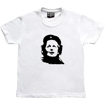 Margaret Thatcher Che Guevara Revolutionary White Kids' T-Shirt