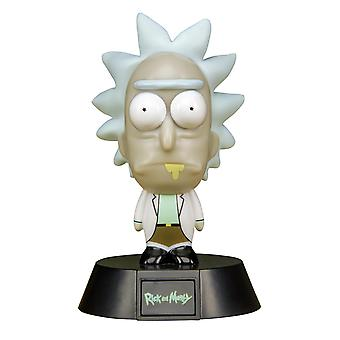 Rick and Morty Mini Lamp Rick black/skin/white/brown, printed, made of plastic, in gift packaging.