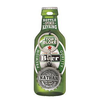 History & Heraldry Keyring - Nathan Bottle Opener