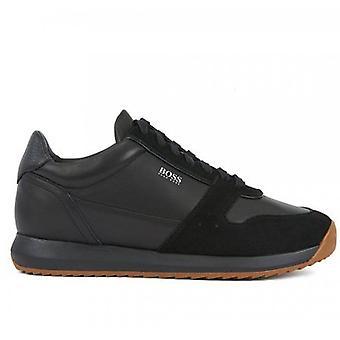 Hugo Boss Footwear Hugo Boss Men's Black Sonic Runn Trainers
