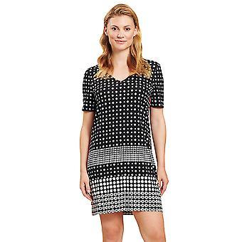 Rösch 1205525-16077 Women's Black Dots Beach Dress