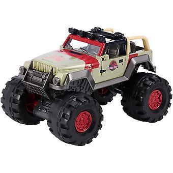 Matchbox Jurassic World & 93 Jeep Wrangler Toy Car 1:24