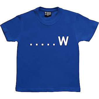 Wicket Maiden Royal Blue Kids' T-Shirt