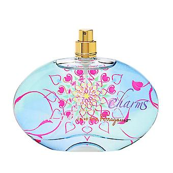 Incanto charms by salvatore ferragamo for women 3.4 oz eau de toilette spray (tester)