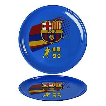 Plate F.C. Barcelona Blue (2 Pcs) 111340