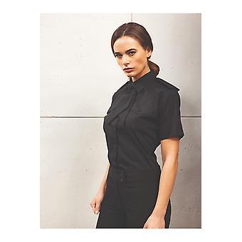 Premier short sleeve pilot blouse pr312