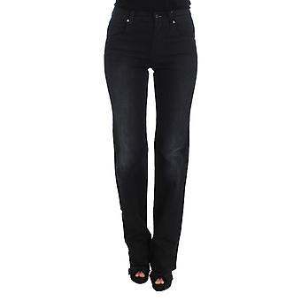 Ermanno Scervino Blue 97 % Cotton Blend Slim Fit Bootcut Jeans