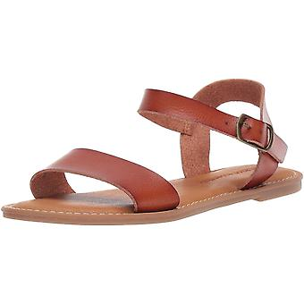 Amazon Essentials Women's Two Strap Buckle Sandal