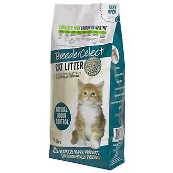 Trixder Hygienic substrate with recycled paper pellets for cats
