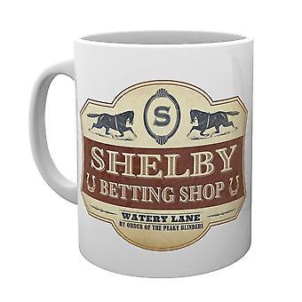 Peaky Blinders Betting Shop Coffee Mug