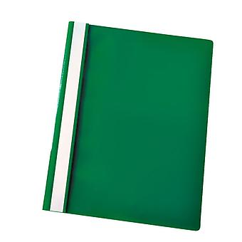 RVFM Flat File Polypropylene A4 Green Pack of 25