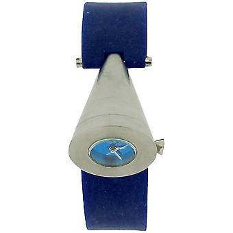 Kool Time Ladies Analogue Cone Shape Dial Blue Silicone Strap Fashion Watch KT35Blue