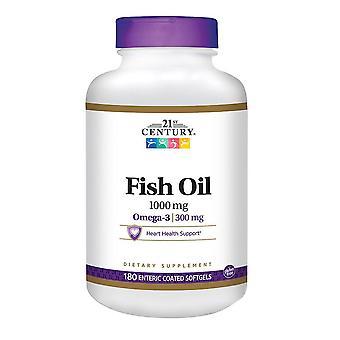 21St century fish oil, 1000 mg, softgels, 60 ea