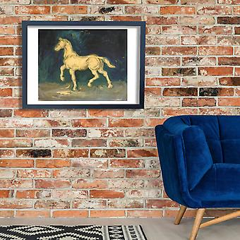 Vincent Van Gogh - Plaster Statuette of a Horse, 1885 Poster Print Giclee