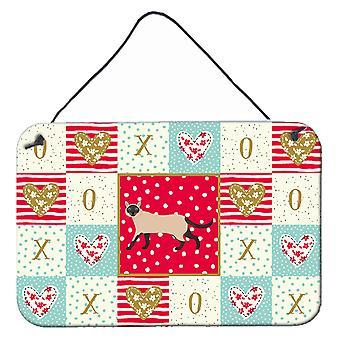 Siamese traditionell #2 Cat Love Vägg eller dörr hängande utskrifter